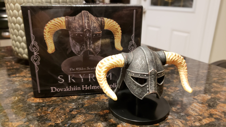 Dovakhiin helmet replica from Skyrim