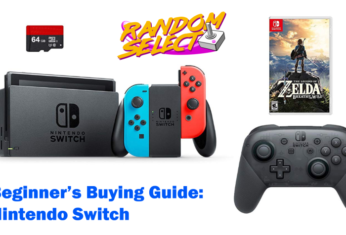 Beginner's buying guide nintendo switch