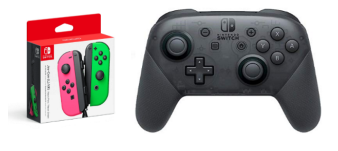 Joy-cons and Pro Controller for Nintendo Switch