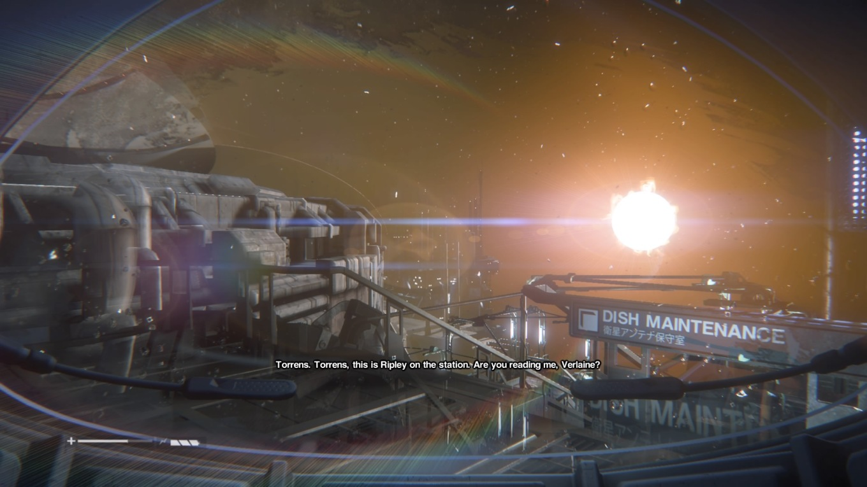 Alien Isolation space walk